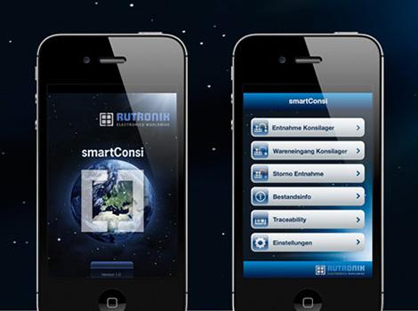 Rutronik Logistik-App