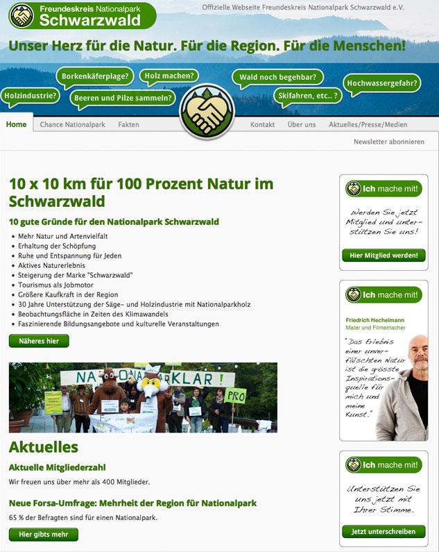 Zentrales Instrument zur Information der Bevölkerung ist das Webportal.