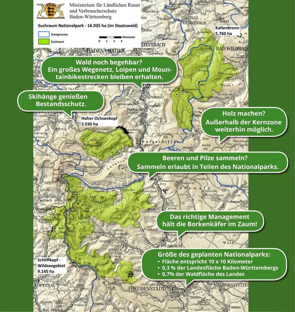 Die Printmedien enthalten viele Informationen über den National Park