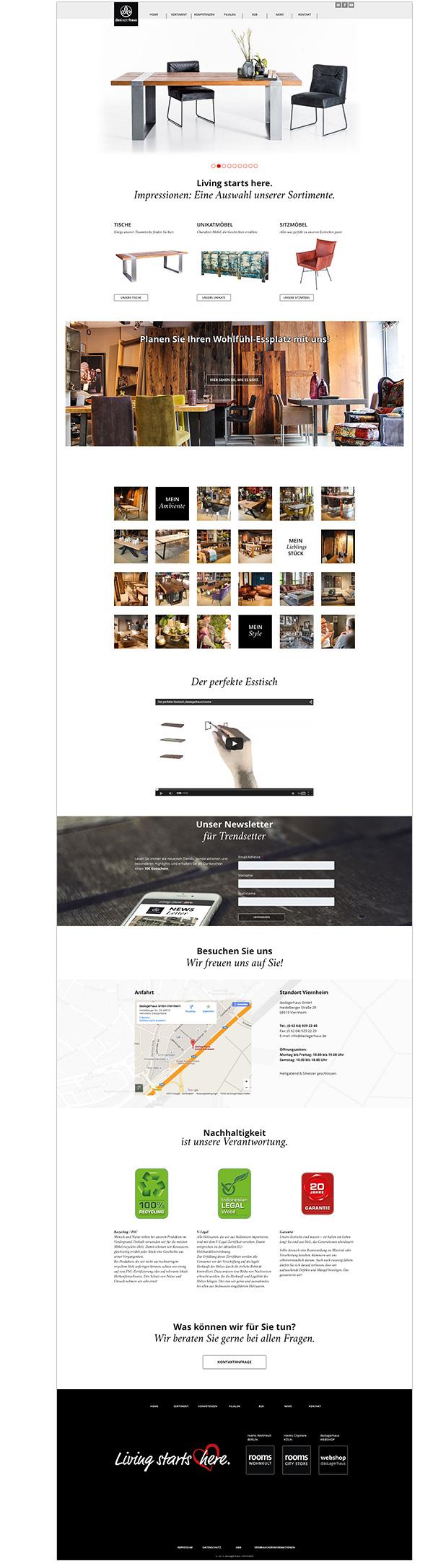 Die Multisite-E-Commerce-Webplattform basiert auf dem benutzerfreundlichen CMS Wordpress